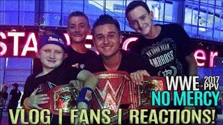 WWE NO MERCY VLOG | LIVE REACTIONS | MEETING FANS!