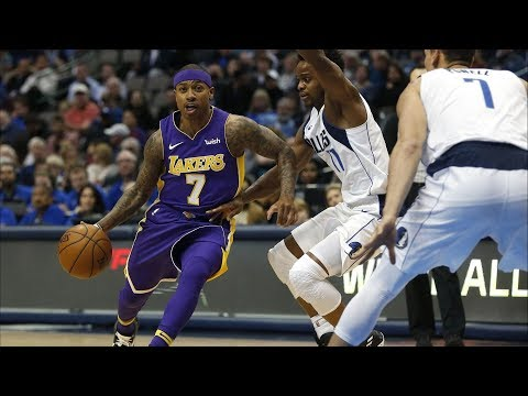 Isaiah Thomas Lakers Debut! Comes Off Bench! 2017-18 Season