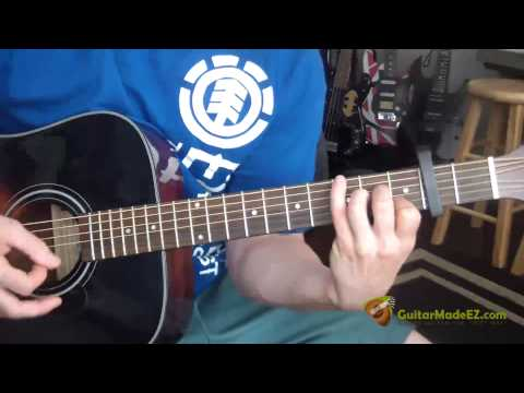 John Lennon  Watching The Wheels  Acoustic Version  Guitar Lesson INCREDIBLY EASY!