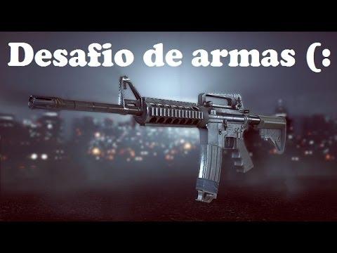 Battlefield 4: Desafio de armas - Carabina M4
