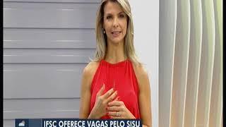IFSC na Mídia | NSC TV - Bom Dia SC | 21.01.19