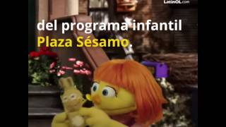 En Plaza Sésamo llega un nuevo personaje con autismo: Julia