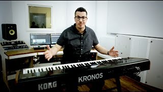 KORG KRONOS Official product video by Sevan Gökoglu - German