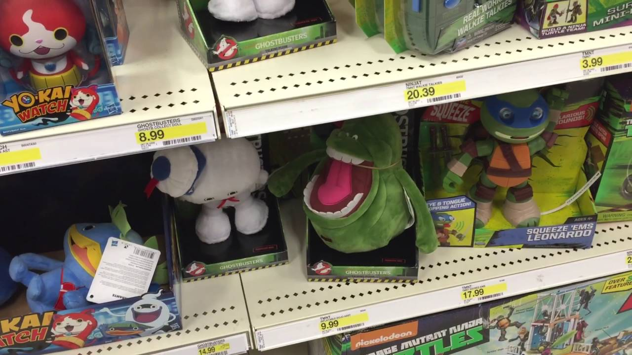 Target Toy Hunt Ghostbusters Tmnt And More 6 23 16 Youtube