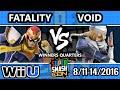 SSC 2016 SSB4 - CLG | VoiD (Sheik) Vs. TA | Fatality (Mario, Falcon) - Smash 4 - Smash Wii U