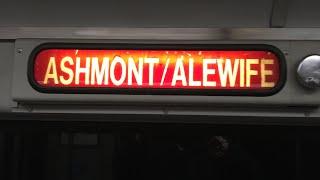 MBTA Red Line Ride Alewife-Ashmont