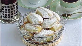 Рецепт печенья  Печенье «Мадлен»  Пошаговый рецепт с фото