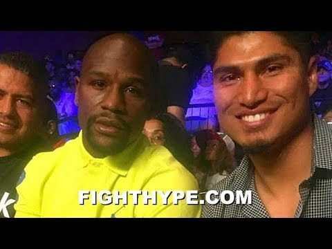 FLOYD MAYWEATHER REACTS TO MIKEY GARCIA'S WIN OVER ROBERT EASTER; WANTS TO WORK WITH EASTER IN GYM