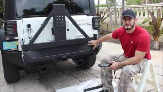 Jeep Rear Bumper with AMAZING FEATURE!!