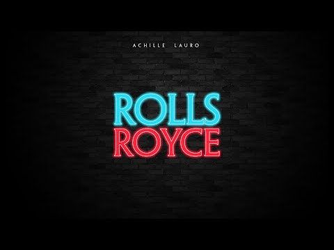 Achille Lauro - Rolls Royce (Lyric Video - Sanremo 2019)