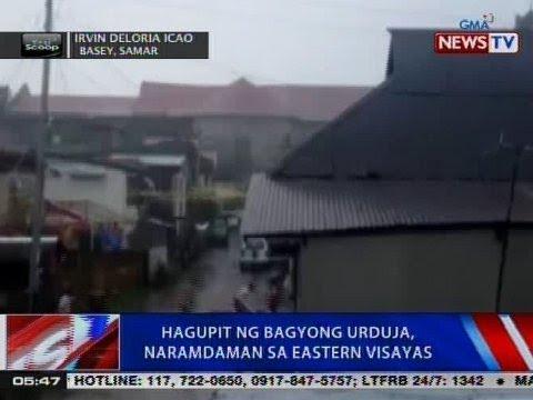 NTVL: Hagupit ng Bagyong Urduja, naramdaman sa Eastern Visayas