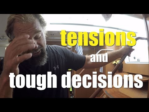 Tensions, Decisions, and other Typical Events on a Sailing Passage (Ep 42)