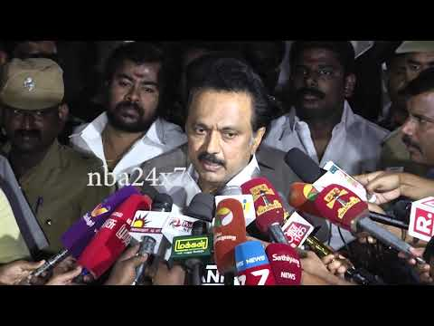 Kamalhassan starting the Party is welcome,But should get peoples Verdict   M K Stalin   nba 24x7