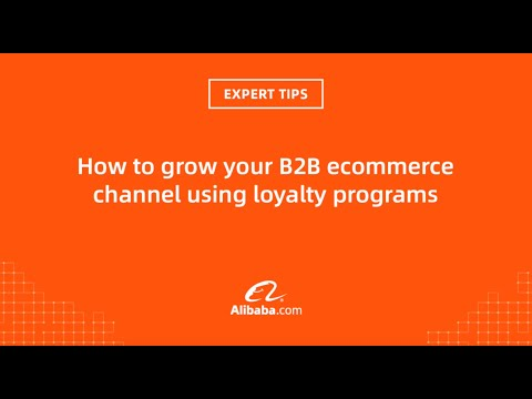 Expert Tips: how to grow your B2B ecommerce channel using loyalty programs