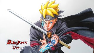 Como Dibujar a BORUTO:NARUTO NEXT GENERATION Cap 1. How To Draw  BORUTO as Adult