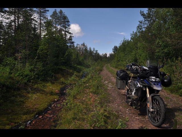 Long Way North - Mit dem Motorrad über den TET-Schweden nach Lappland zum Bergsteigen -outdoor-life
