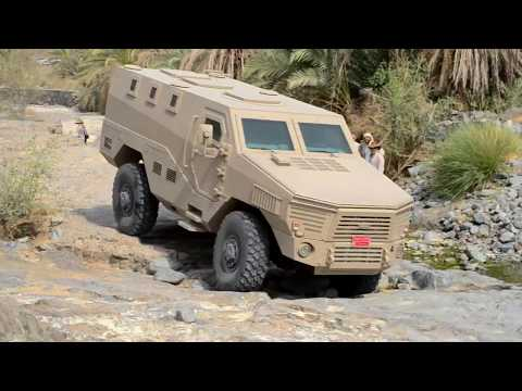 LEGION - Mine-Resistant Ambush Protected Armored Vehicle By Isotrex