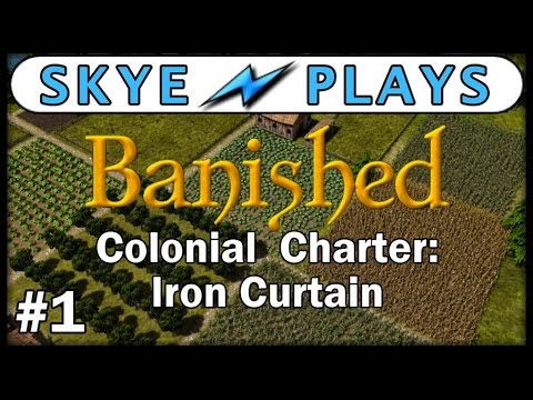 BANISHED Colonial Charter EP 1◀  BEST CITY BUILDING GAMES 2017  ► Gameplay/Tips