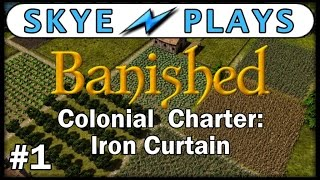 Banished Colonial Charter - Part 1 ► The New World! ◀ Gameplay / Tips