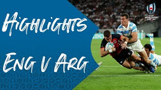 Highlights: England v Argentina - Rugby World Cup 2019