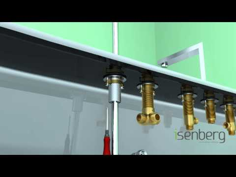 installing-isenberg's-deck-mounted-roman-tub-filler-faucet-with-hand-shower-160.2420
