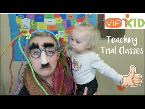 Teaching Trial ESL Classes Online with Demos (VIPKID)