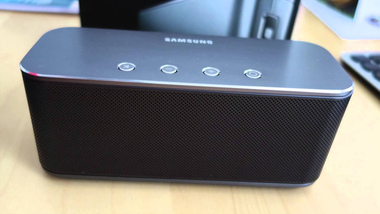 Review Samsung Sb330 Bluetooth Speaker English Youtube