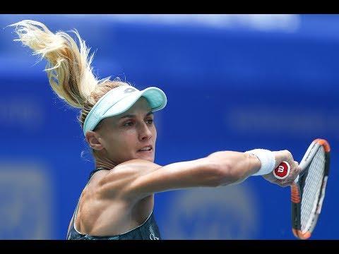 2017 Wuhan Open First Round | Lesia Tsurenko vs Carla Suarez Navarro | WTA Highlights