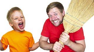 MikaMika - история про папу и правила поведения для детей