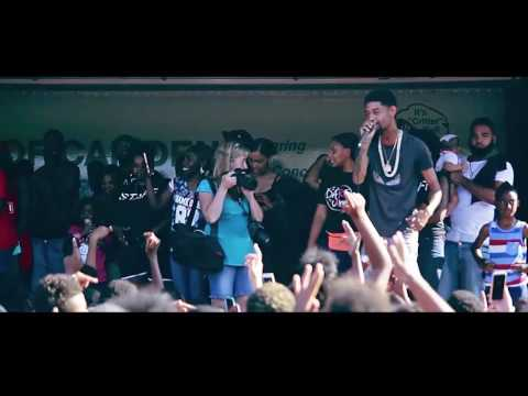 "PNB Rock Live performing ""No Time"" and ""Fleek"" In Camden, New Jersey"