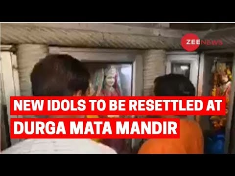 Hauz Qazi temple attack: New idols to be resettled at Durga Mata Mandir in Lal Kuan