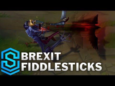Union Jack Fiddlesticks Skin Spotlight - Pre-Release - League of Legends