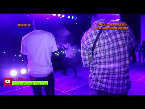 LIL OMZ_WINS 50K PRICE RAP BATTLE LIVE A SMILE GAMBIA CONCERT DECEMBER 2017