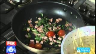Nabeel's® Spaghetti With Honey Roasted Ham And Sweet Peas