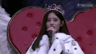 Top Girls(高飞组)揭晓总决选第1名鞠婧祎(SNH48第三届年度总决选演唱会)