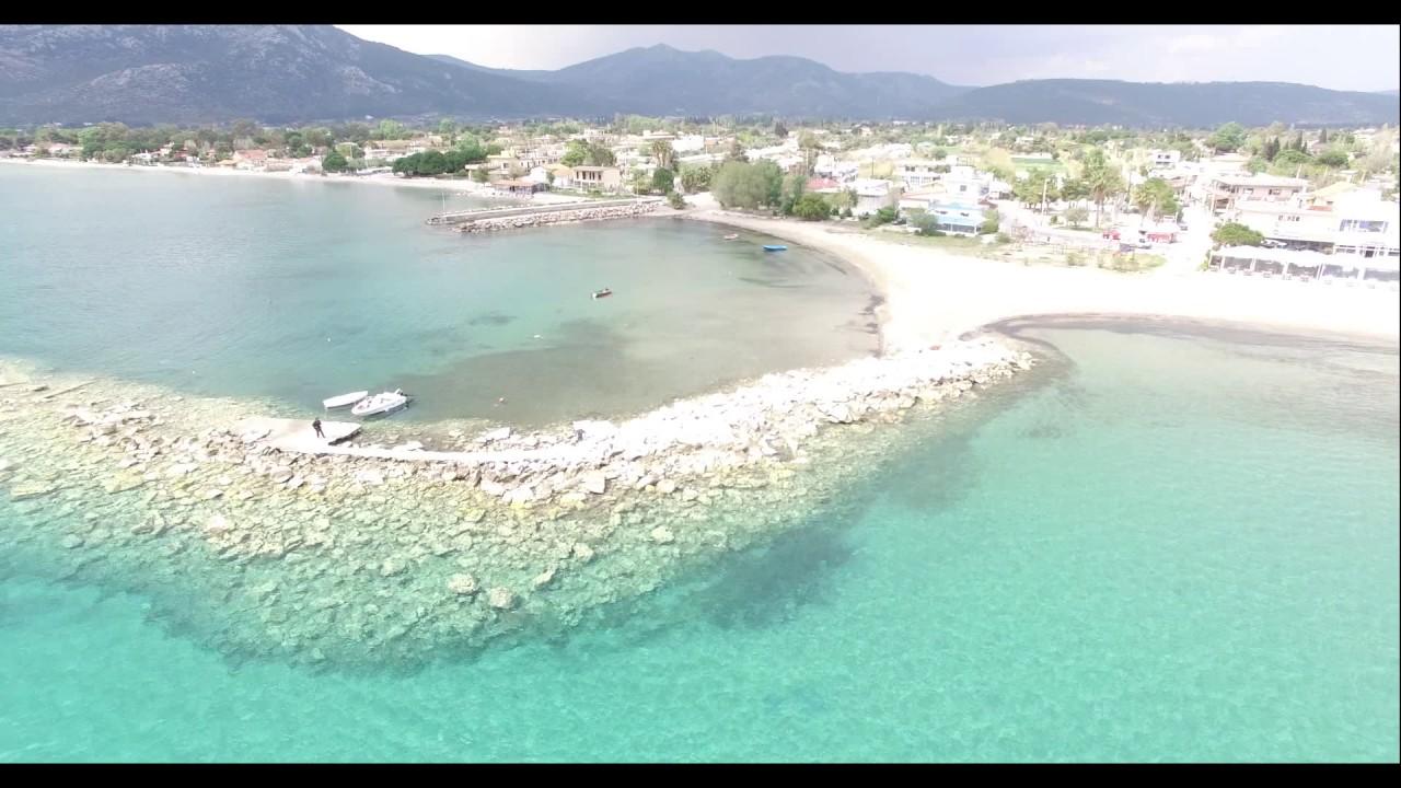 Nea Makri Drone View