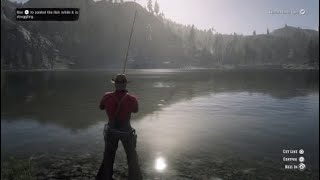 Legendary Small Mouth Bass Red Dead Redemption 2