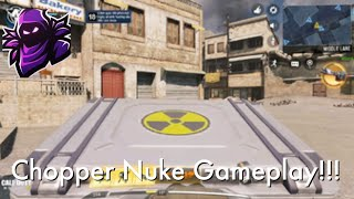 Chopper Nuke Gameplay || Call Of Duty Mobile || Overlord