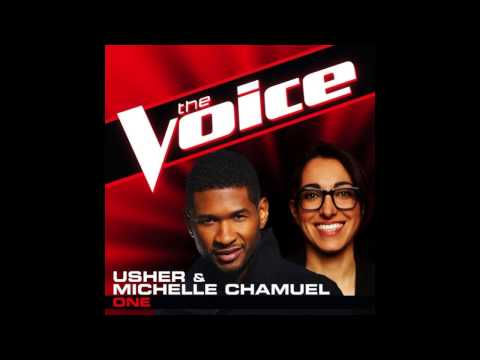 "Michelle Chamuel & Usher: ""One"" - The Voice (Studio Version)"