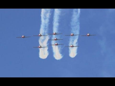 [HD] Snowbirds Recce + Comms: Shoal Lake Airshow 2017