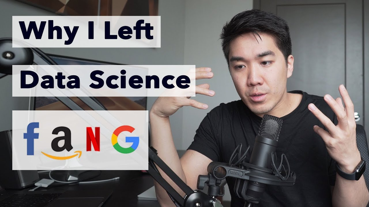 Why I left my Data Science Job at FANG (Facebook Amazon Netflix Google)