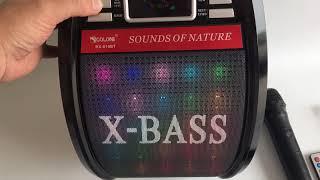 Портативная колонка с радиомикрофоном Golon RX-810BT/ texsklad.com.ua/ тел.0967070698