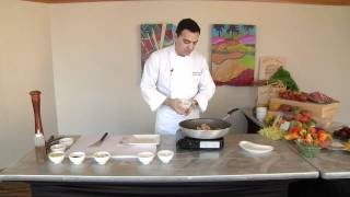 Chef Andreas Nieto Prepares An Easy Shrimp Scampi Sauce Recipe