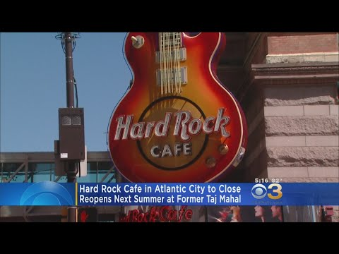 Hard Rock Cafe Moving From AC Boardwalk To Re-Done Casino