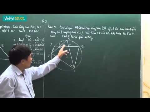 Ôn thi tuyển lớp 10 toán đường tròn Bài 21 Bài tập về tứ giác nội tiếp Tiết 1