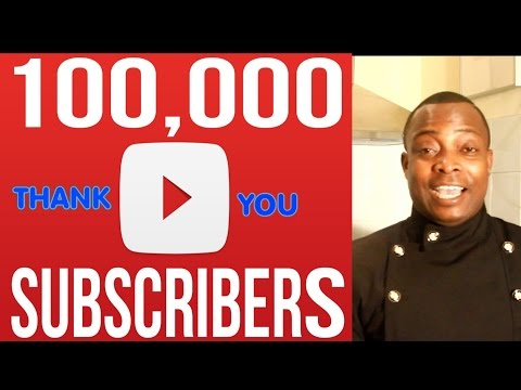 WE REACH 100,000 SUBSCRIBERS THANK YOU SO MUCH 2017