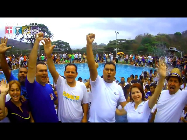 Baptisms Foursquare Mission in Venezuela May 2018