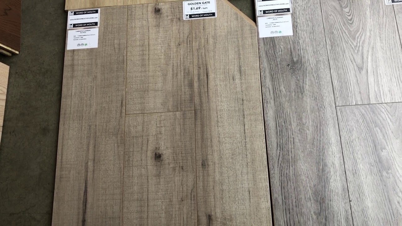 12mm Laminate Floors - Digital Showroom AC4 Collection
