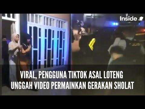 VIRAL, PENGGUNA TIKTOK ASAL LOTENG UNGGAH VIDEO PERMAINKAN GERAKAN ...