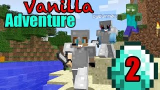 Minecraft Vanilla Adventure 2 - A Survival Series with Hannah Carr